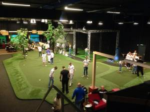 Exemplu de golf indoor - Golf Amstelveen